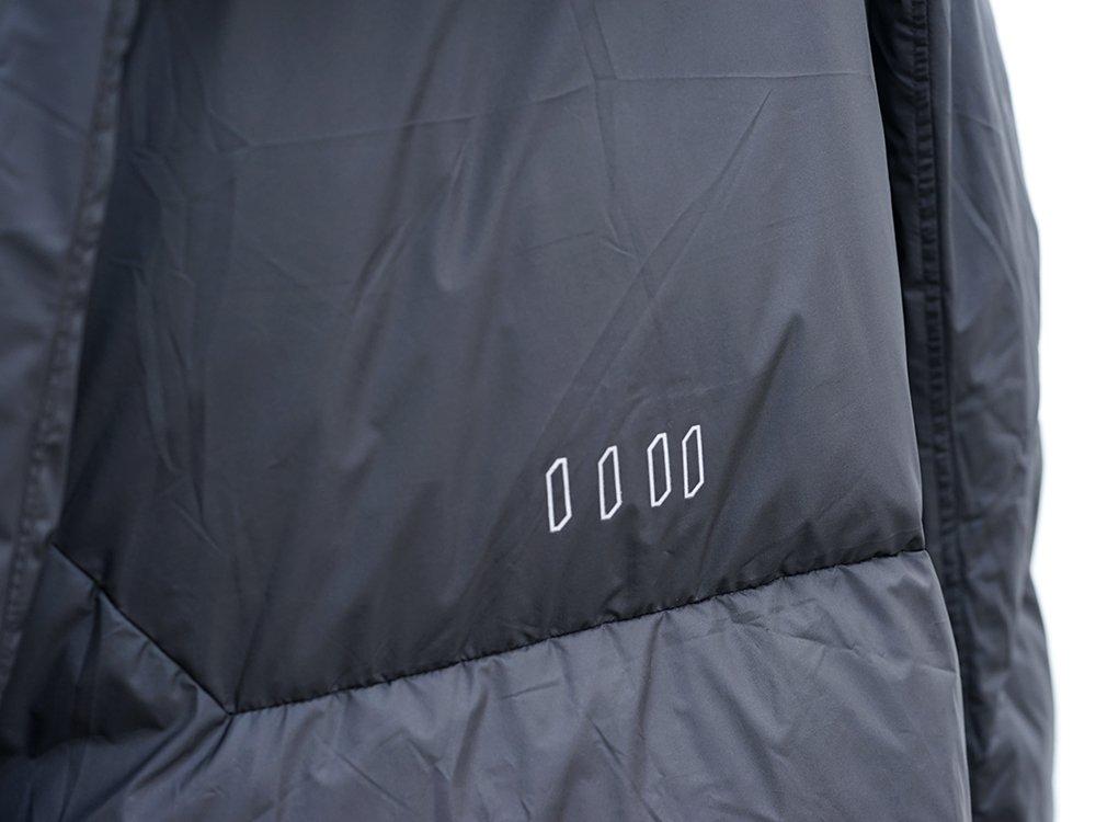 HAMCUS × NILøS 19aw Down long vest Black Styling!! - 2-004