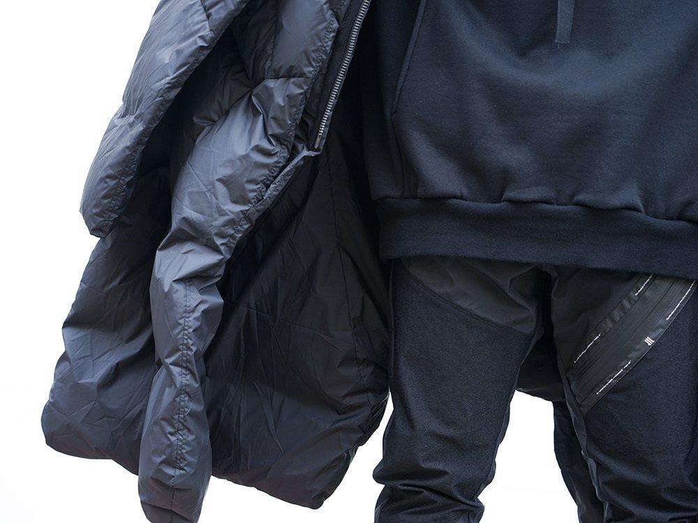 HAMCUS × NILøS 19aw Down long vest Black Styling!! - 3-003