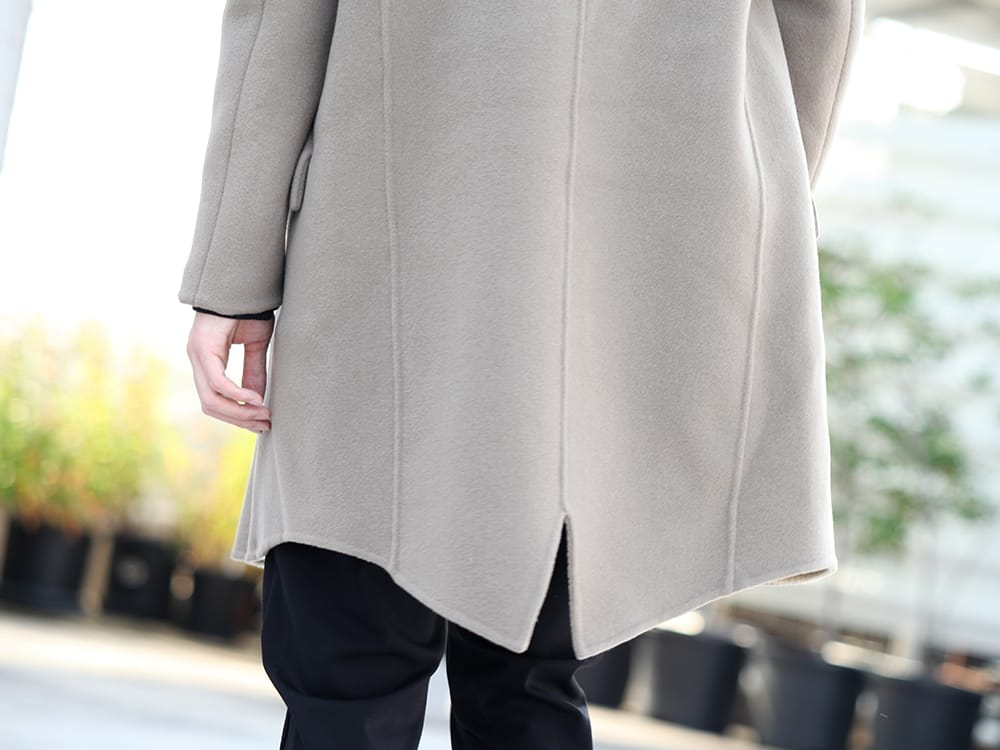 .LOGY kyoto 19-20AW ATTACHMENT 【Cashmere mixed double face beaver hooded coat】 STYLE!! - 2-005