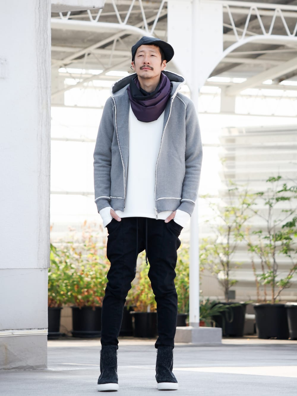 .LOGY kyoto 19AW WJK【 SUPER URAKE PARKA 】STYLING!!! - 1-001