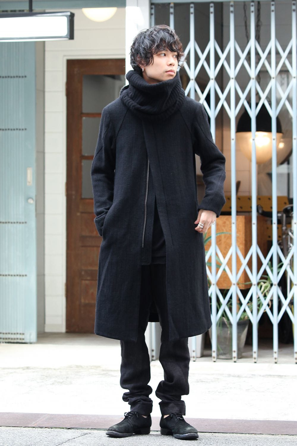 DEVOA Over Sized Hooded Down Coat  Style - 1-002