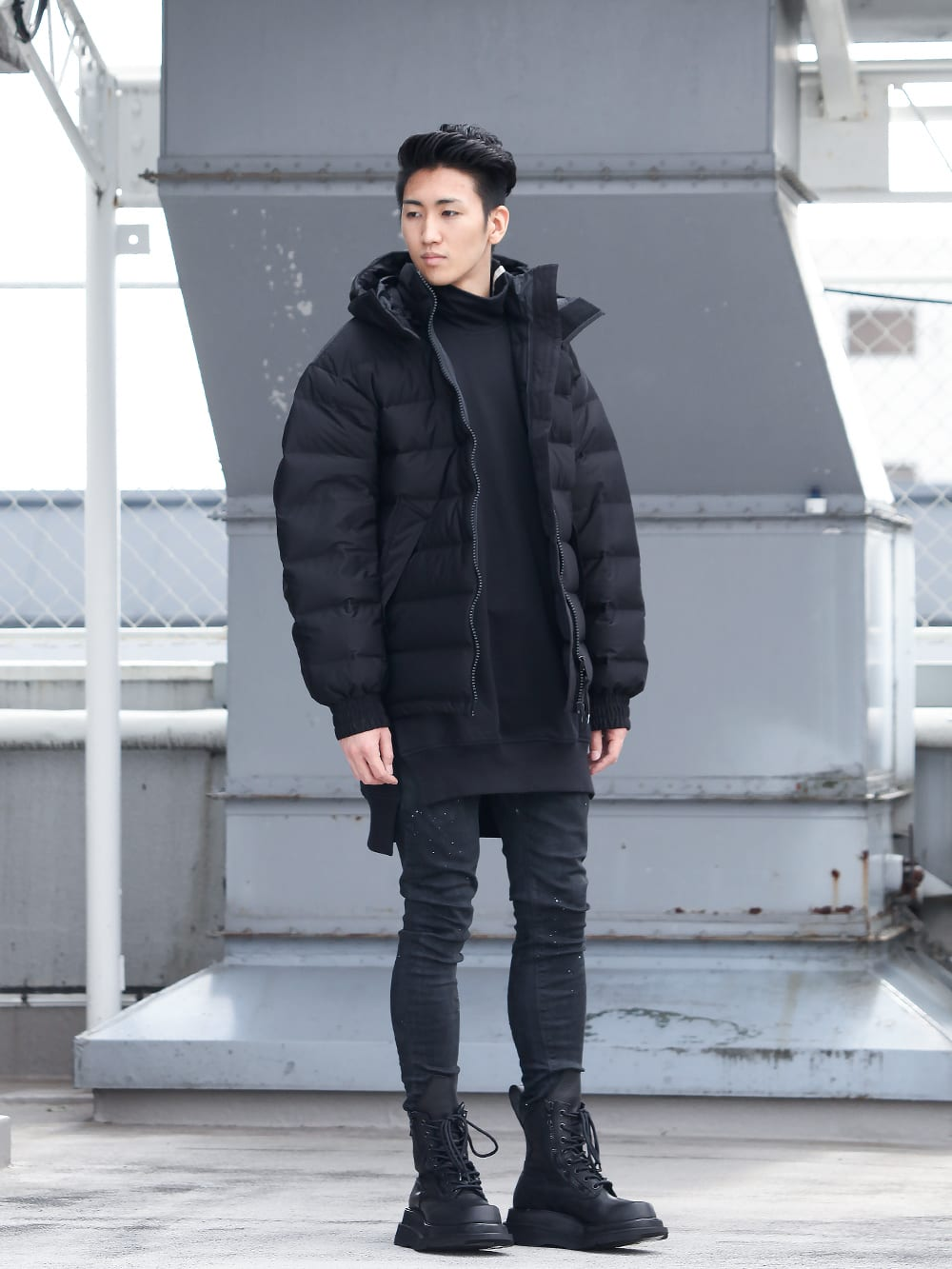.LOGY kyoto 19-20AW  Y-3【Seamless down Hooded jacket】 STYLE!! - 1-001