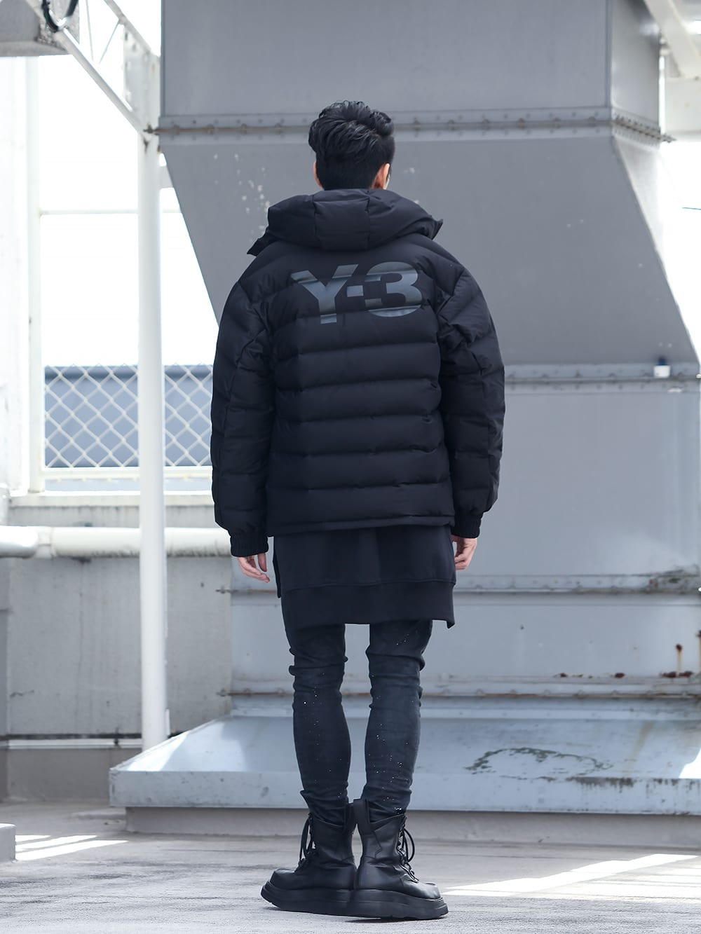 .LOGY kyoto 19-20AW  Y-3【Seamless down Hooded jacket】 STYLE!! - 1-003