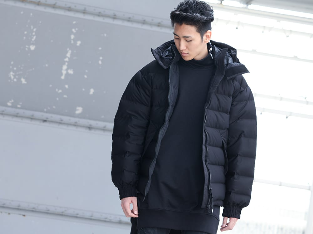 .LOGY kyoto 19-20AW  Y-3【Seamless down Hooded jacket】 STYLE!! - 2-001
