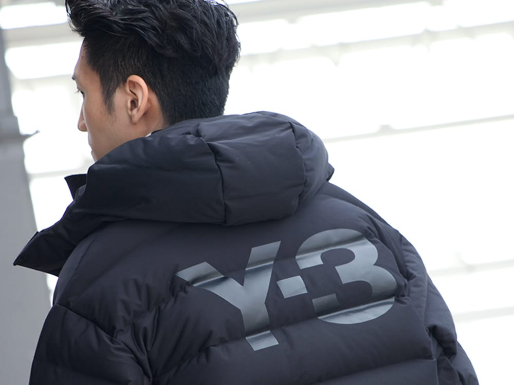 .LOGY kyoto 19-20AW  Y-3【Seamless down Hooded jacket】 STYLE!! - 2-003