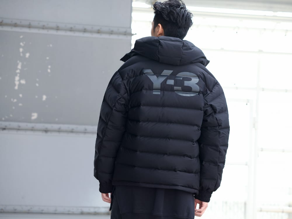 .LOGY kyoto 19-20AW  Y-3【Seamless down Hooded jacket】 STYLE!! - 2-004