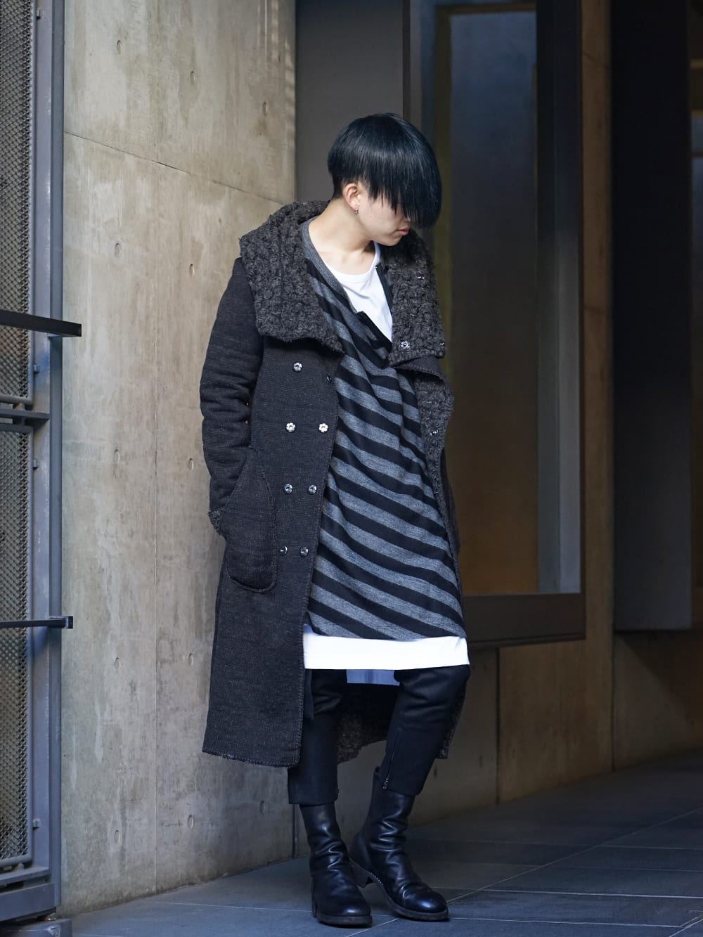 NUDE:MM × Ground Y × TVA 19aw layered Styling !! - 1-001
