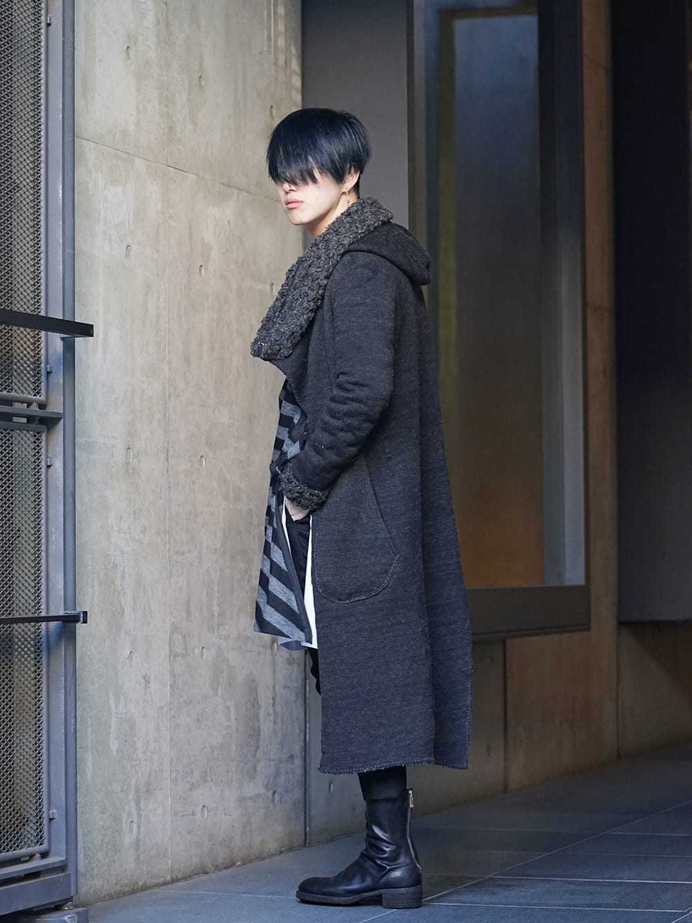 NUDE:MM × Ground Y × TVA 19aw layered Styling !! - 1-002