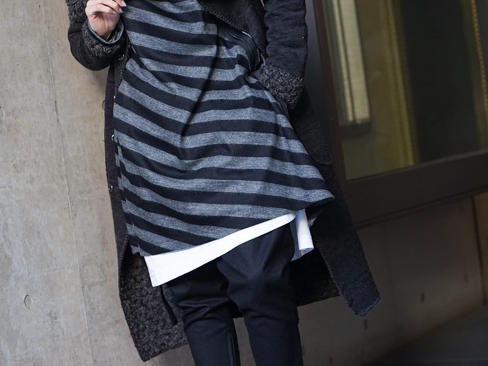 NUDE:MM × Ground Y × TVA 19aw layered Styling !! - 2-005