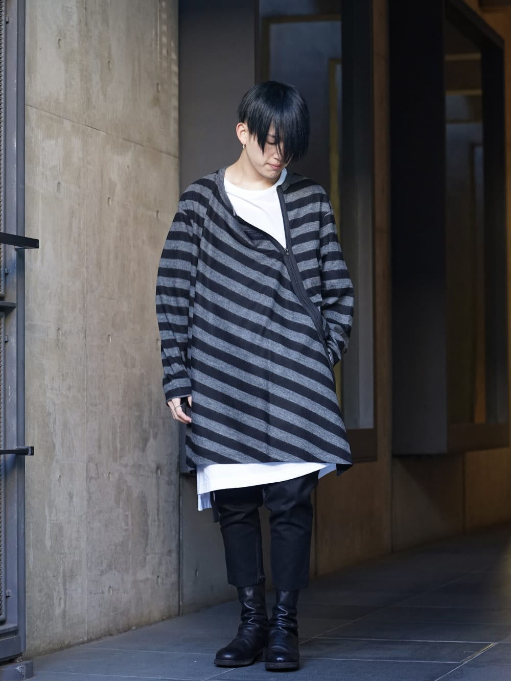 NUDE:MM × Ground Y × TVA 19aw layered Styling !! - 3-001