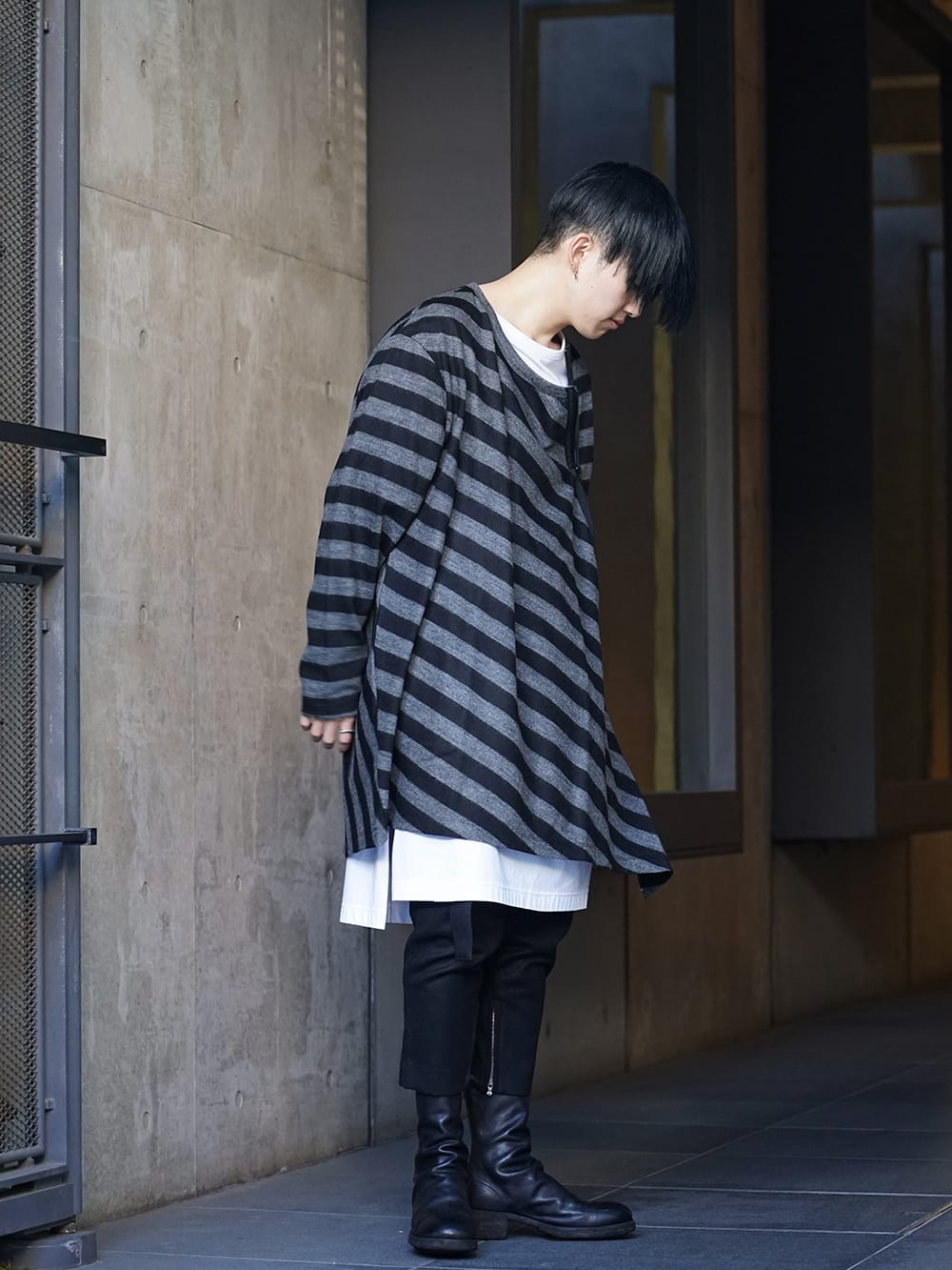 NUDE:MM × Ground Y × TVA 19aw layered Styling !! - 3-003