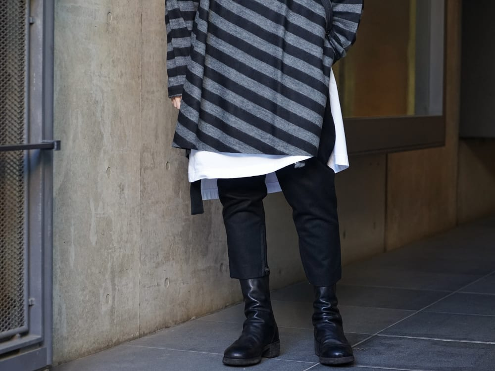 NUDE:MM × Ground Y × TVA 19aw layered Styling !! - 4-001
