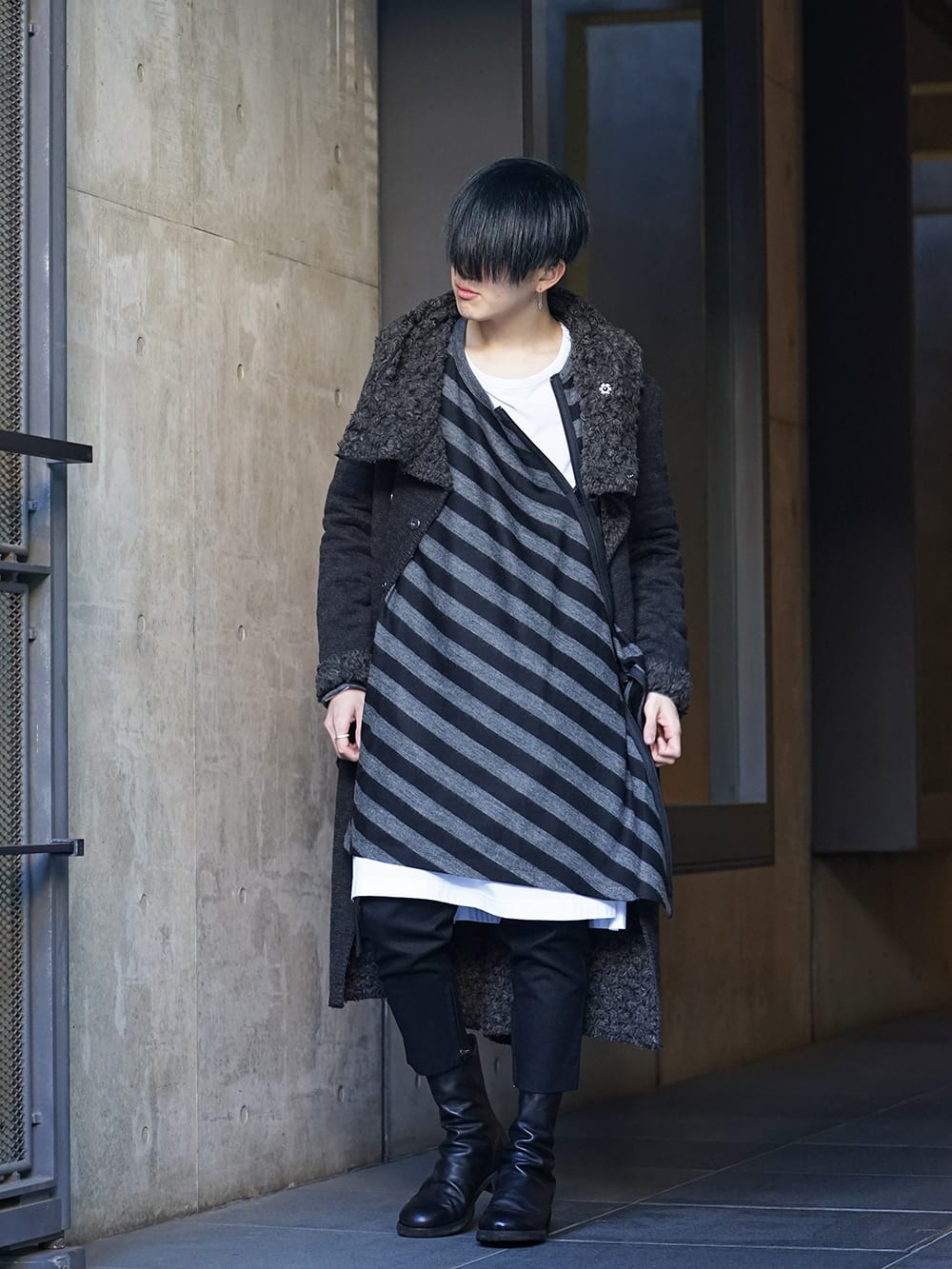 NUDE:MM × Ground Y × TVA 19aw layered Styling !! - 5-001