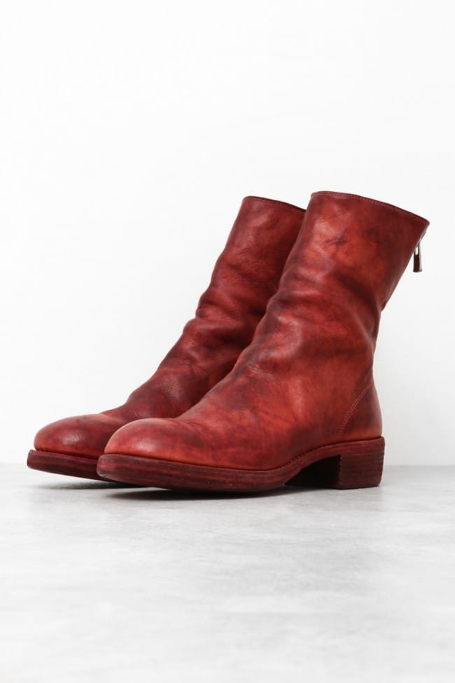 GUIDI Leather Boots Line-Up Introduction - 1-001