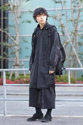 The VIridi-anne 19SS Gatherd long shirt Style