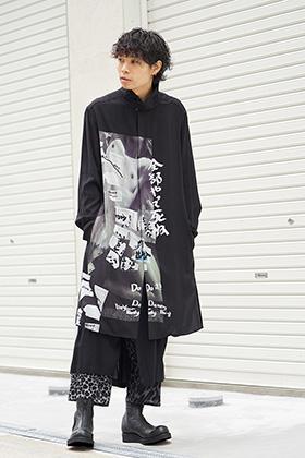 Yohji Yamamoto 19SS Print Blouse Styling
