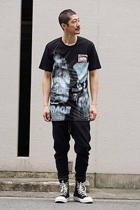 11 by Boris Bidjan Saberi 19SS Graphic T-shirt Style