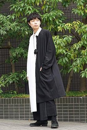 B Yohji Yamamoto 19SS Asymmetry Shirt Style