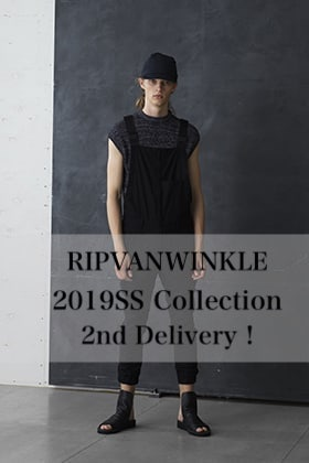 RIPVANWINKLE 2019SS collection 2nd Delivery