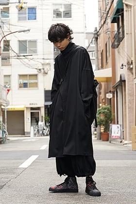 Yohji Yamamoto 19SS All Wrinkled Gabardine Style