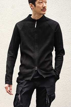 ISAAC SELLAM 19SS Stretch Leather Shirt Style