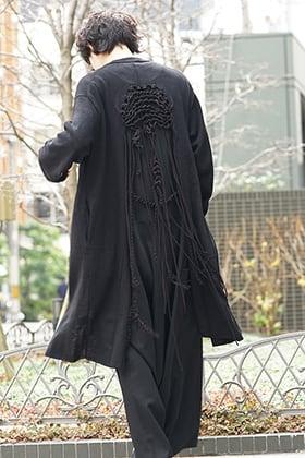 Yohji Yamamoto 19SS Macrame Cardigan Style