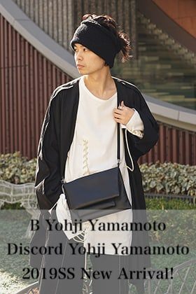 B Yohji Yamamoto & Discord Yohji Yamamoto 2019SS collection New Arrival!