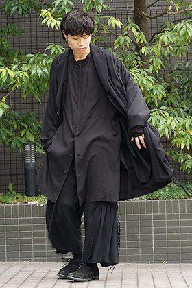 B YY x Yohji Yamamoto 19SS Light Fabric Style