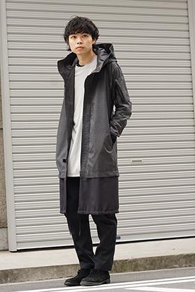 DEVOA 19SS Poplin Reflector Coat Style