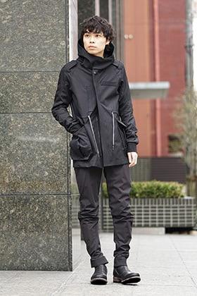 DEVOA 19SS Hooded Jacket Style