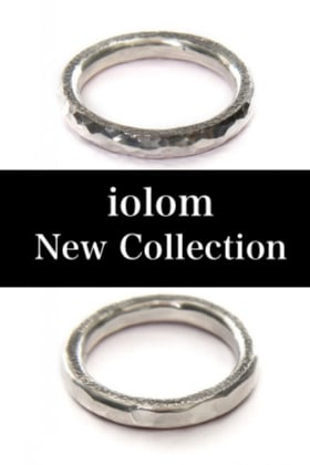 iolom New Collection [ Hammered Ring 2type ]