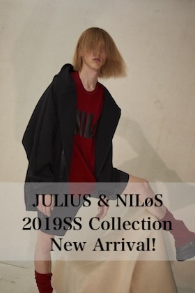 JULIUS & NILøS 2019SS Collection New Arrival!