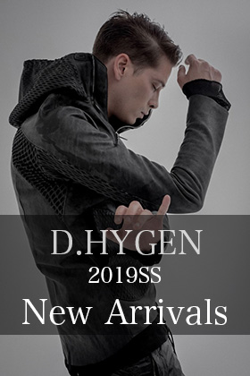 D.Hygen 19SS Leather And Cardigan New Arrival
