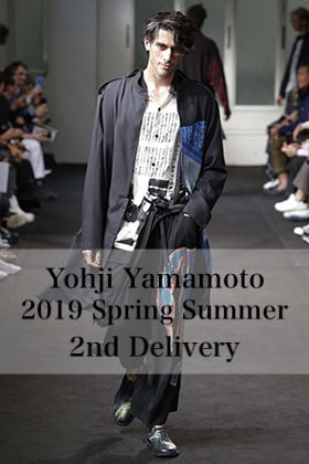 Yohji Yamamoto 2019 Spring Summer 2nd Delivery!!