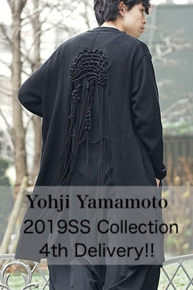 Yohji Yamamoto 2019 Spring Summer 4th Delivery!!