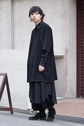 Ground Y 2019SS Black Layered Style
