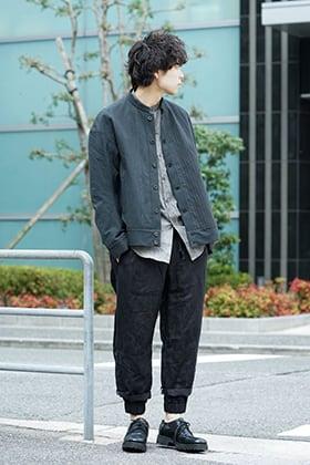 individual sentiments 19SS Asymmetric Jacket Style