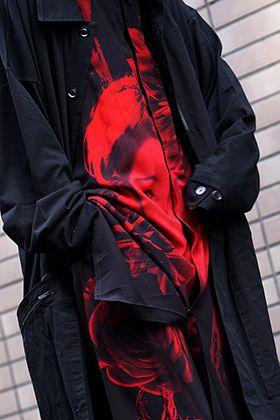 Yohji Yamamoto 19SS Red Print Style