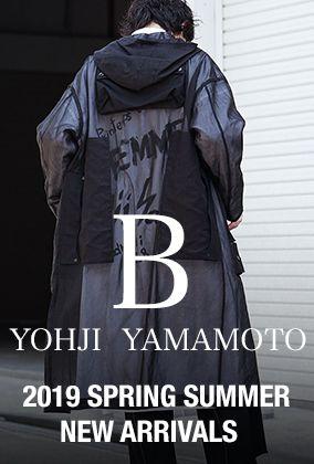 B Yohji Yamamoto 19SS Collection New Arrivels