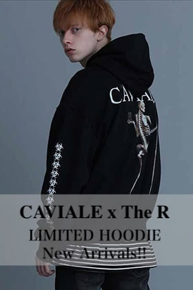CAVIALE × The R LIMITED HOODIE New Arrivals!!