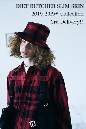 DIET BUTCHER SLIM SKIN 2019-20AW Collection 3rd Delivery!!