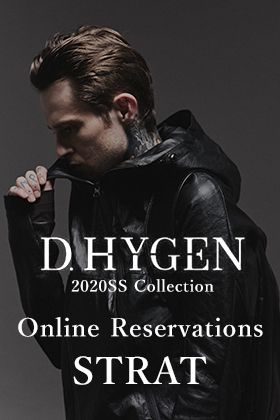 D. HYGEN 2020 SS collection online reservation start!