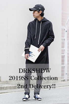 DRKSHDW 19SS Collection 2nd Delivery!!