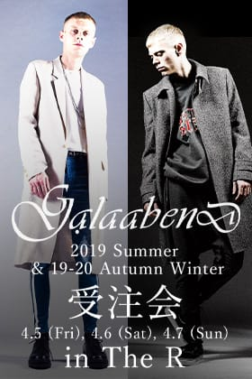 GalaabenD 19S and 19-20AW コレクション受注会開催のお知らせ