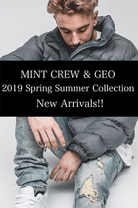 GEO & MINTCREW 19SS Collection New arrivals!