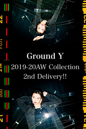 Ground Y 2019-20AW Collection 2nd Delivery!!