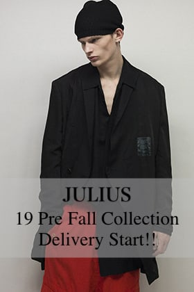 JULIUS 19 Pre Fall Collection Delivery Start!!