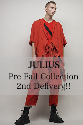 JULIUS 2019 Pre Fall Collection 2nd Delivery!!