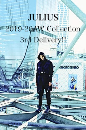 JULIUS 2019-20AW Collection 3rd Delivery!!