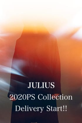 JULIUS 2020 Pre Spring Collection Delivery Start!!